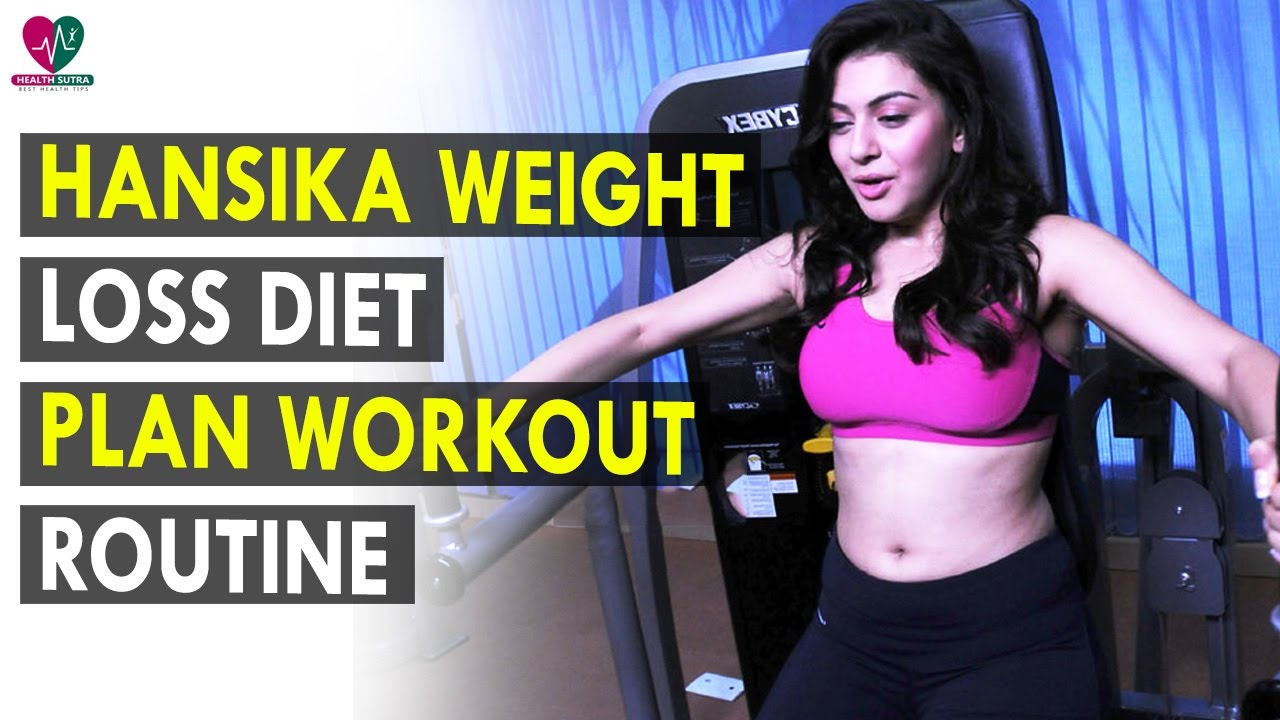 Hansika motwani weight loss