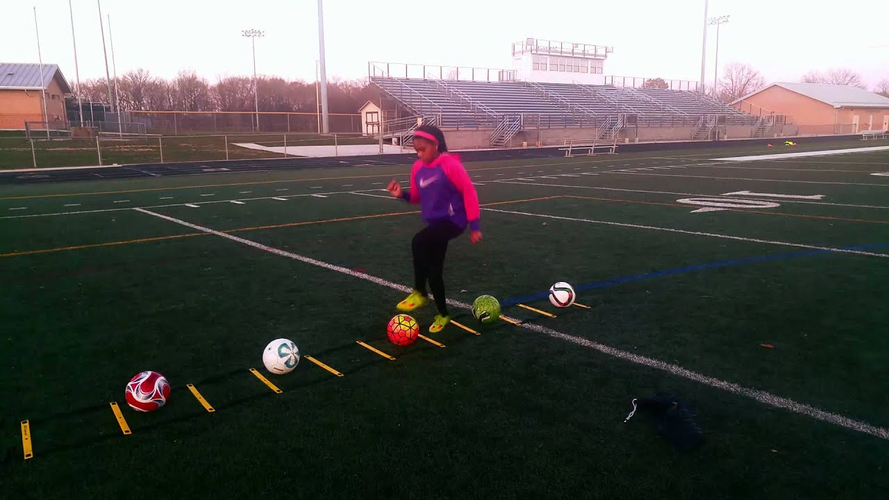 Agility Ladder Drills For Soccer Fast Footwork To Improve