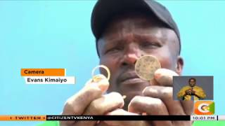 | YOUR STORY | Lucas Chelengo makes rings from coins