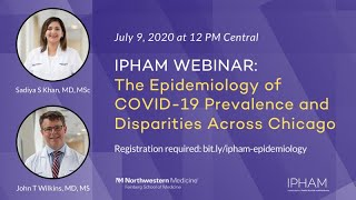 The Epidemiology of COVID-19 Prevalence and Disparities Across Chicago