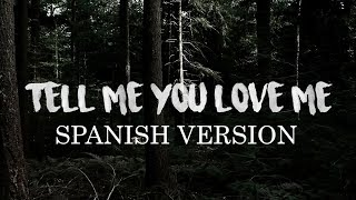 Demi Lovato - Tell Me You Love Me (Spanish Version) - Cover en Español #TMYLMCover