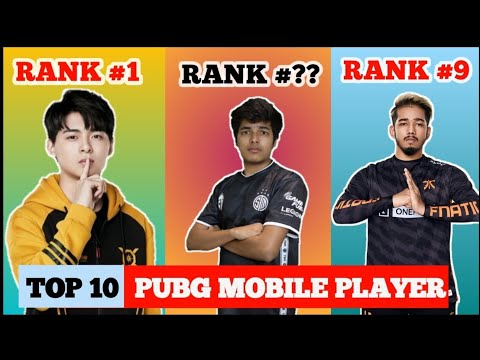 World Top 10 Pubg Mobile Players | Top Player Of 2020  World l Captain OP Top 10