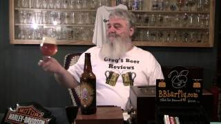 Beer Review # 1255 Three Floyds Brewery Dreadnaught Imperial IPA