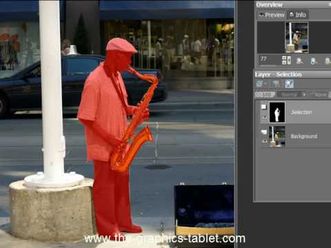 Selecting And Extracting Complex Objects With Paint Shop Pro