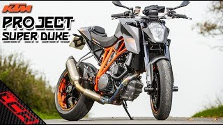 Super Duke MODS | Billet Triple Clamps & Tyres