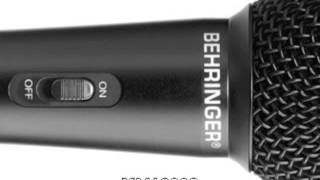 Mics Comparison: Shure SM58 vs Behringer XM1800S