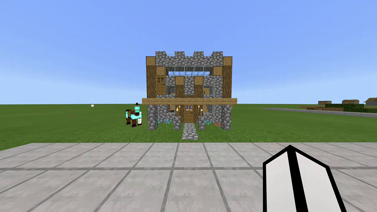 I Built Pewdiepies House In Minecraft Youtube