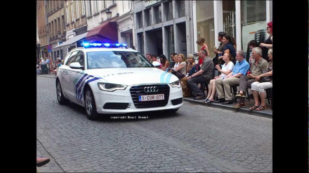 Politie Brugge Audi A6 Valor Led Youtube