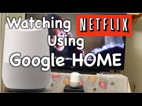 Netflix streaming with Google Home Demo and setup