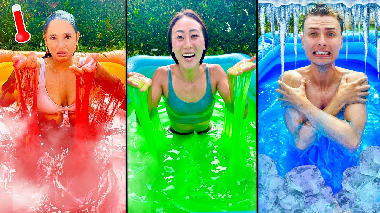 Download ONE COLORED SLIME POOL CHALLENGE!!