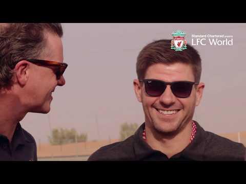 Liverpool Legends Steven Gerrard and Steve McManaman take up Dune Bashing In the Dubai desert