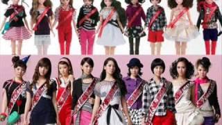 INTO THE NEW WORLD - Girls 'Generation.Karaoke!!^-^)
