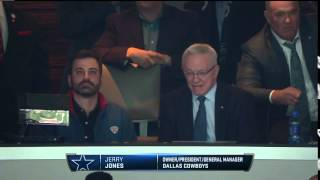 Jimmy Kimmel spotted with Jerry Jones | Jets vs. Cowboys | NFL