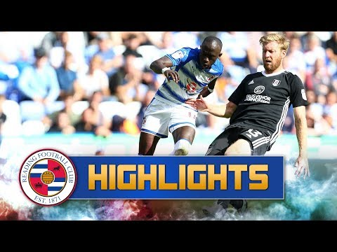2-minute review: Reading 1-1 Fulham (Sky Bet Championship), 12th August 2017