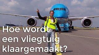 Hoe wordt een vliegtuig klaargemaakt voor vertrek? | Het Klokhuis