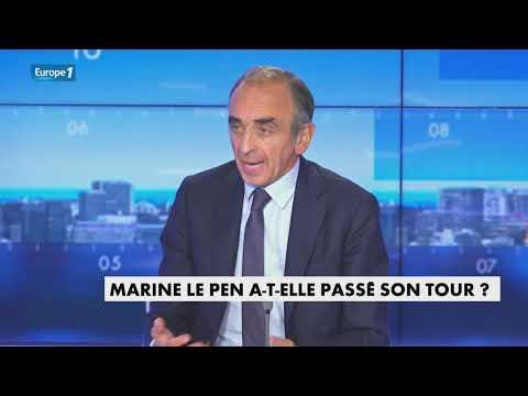"""Eric Zemmour : """"Je n'ai rien contre Marine Le Pen ! Je pense simplement qu'elle ne peut pas gagner"""""""