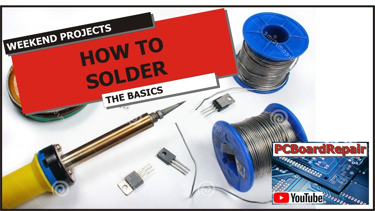 How To Solder The Basics Youtube House Wiring Video Download