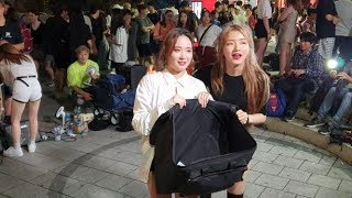 20190801 홍대 버스킹 공연 댄스팀 클락 소개영상…