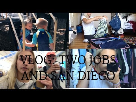 Follow Me Around: Two Jobs, Packing For San Diego & More |Rylee Hilligoss