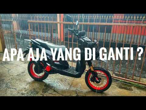 X-RIDE MODIFIKASI SUPERMOTO (PART+HARGA)