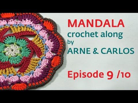 How to Crochet a Mandala. Part 9 by ARNE & CARLOS