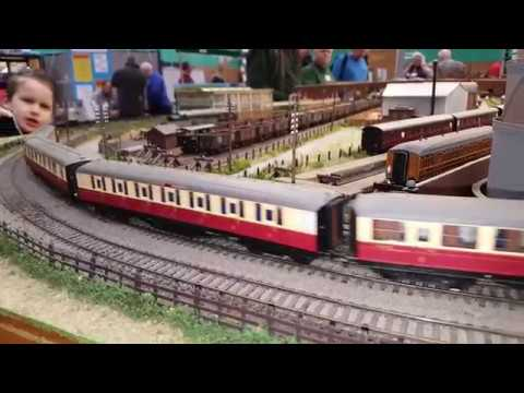 UK MODEL RAILWAY EXHIBITION – MILTON KEYNES 2018