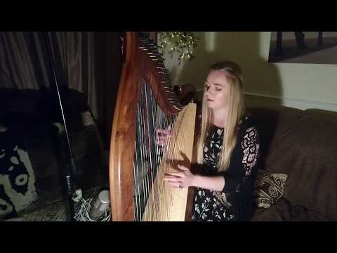 At Last - Etta James (Harp Cover)