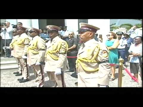 SBC SEYCHELLES - STATE FUNERAL OF FORMER PRESIDENT SIR JAMES MANCHAM (FUNERAL SERVICE)