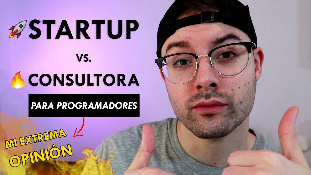 STARTUP o Empresa de PRODUCTO vs Consultora de SOFTWARE 🏢 ¿Cual paga más a los programadores? 💳