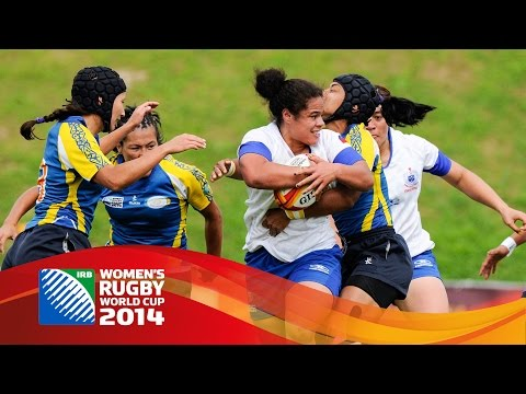 [HIGHLIGHTS] Samoa and Spain win at Women's Rugby World Cup 2014