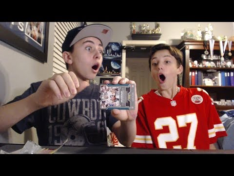 2016 Panini Infinity Box Break With Jackson You Will Not Believe This