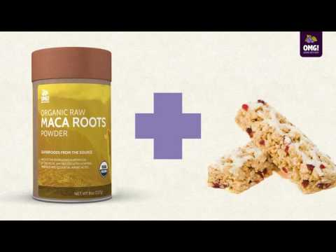 OMG Superfoods! - Maca Roots can be used with...