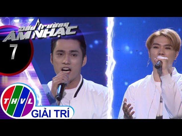 THVL | Đấu trường âm nhạc - Tập 7[1]: Đêm trăng tình yêu – Ngọc Sơn, Hồng Phú