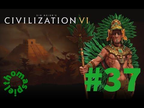 Civilization 6 Let's Play Deutsch - #37 - Aztekenreich - Frankreichfeldzug über See