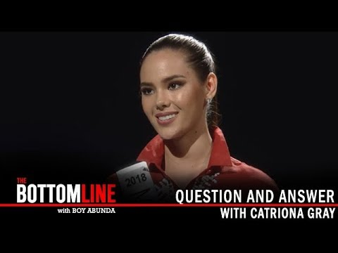 The Bottomline: Catriona Gray's view to the third restroom for transgenders