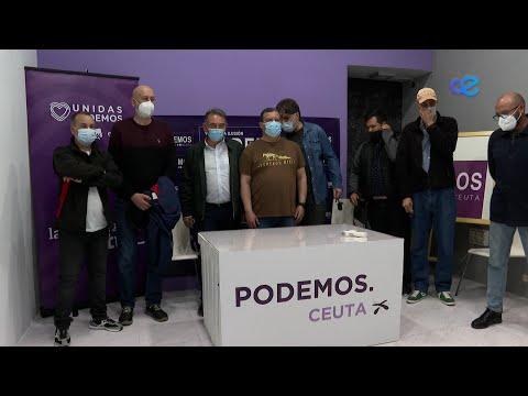 Unidas Podemos abre las puertas de su nueva sede a todos los ciudadanos de Ceuta