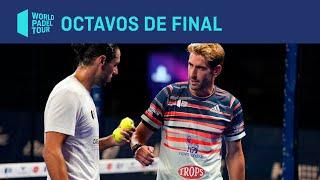 Resumen octavos de final (turno mañana) Estrella Damm Barcelona Master 2020 | World Padel Tour