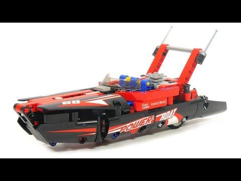 Lego Rennboot