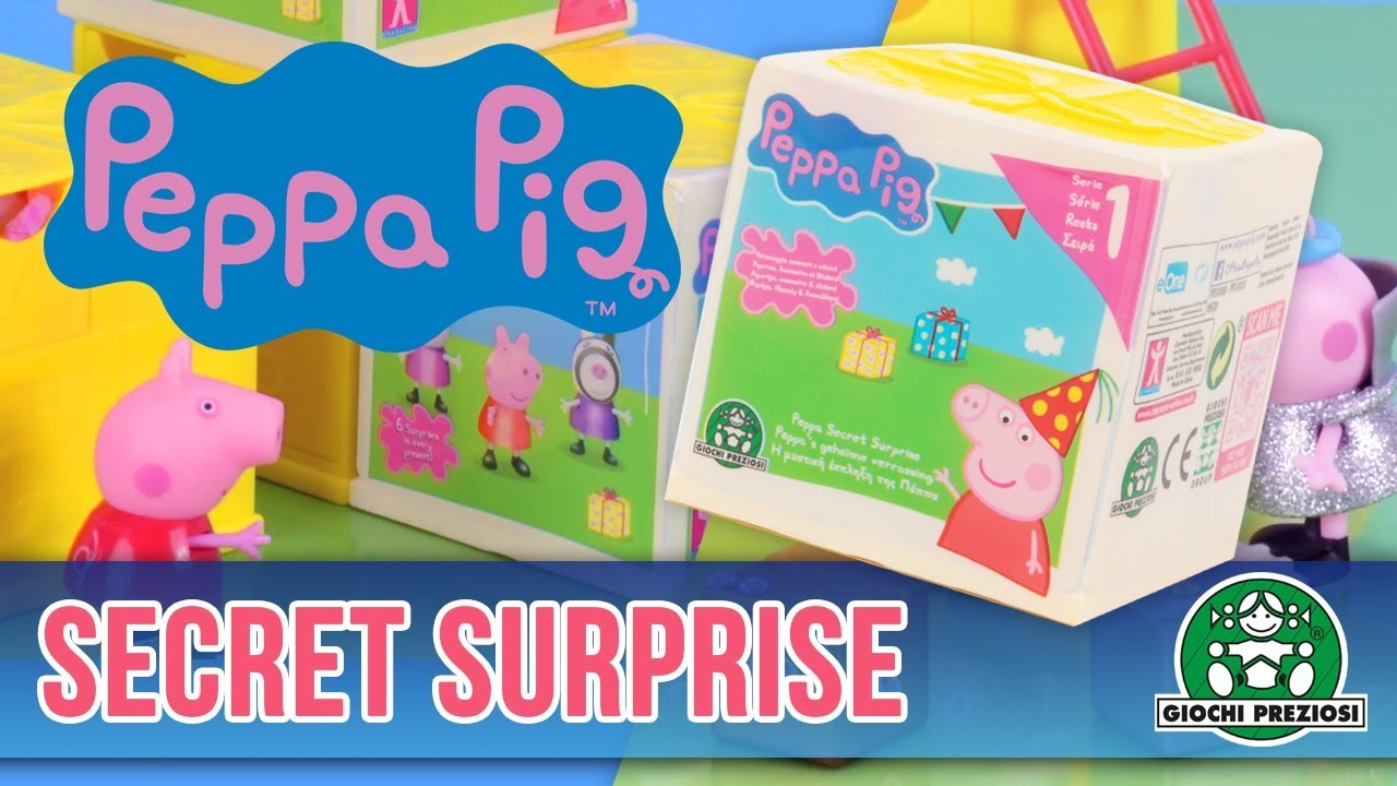 Giochi Preziosi | Peppa Secret Surprise Unboxing con Peppa e i suoi amici