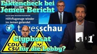 Glyphosat Lobby gesteuert | Tagesschau Faktenarm | WikiLeaks Russia | 451 Grad