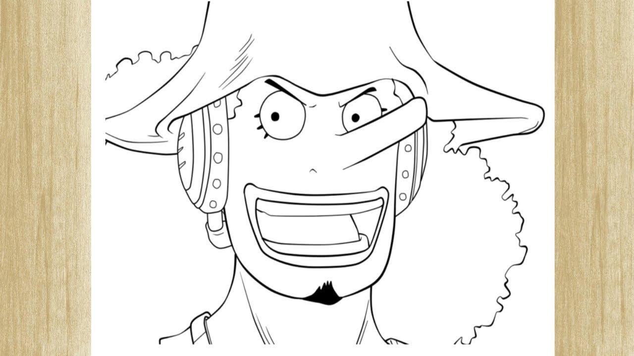 Como Dibujar A Usopp De One Piece