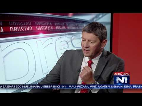 N1 Pressing: Bosko Obradovic i Goran Ciric/ 27.6.2017.