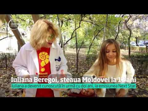 La doar 12 ani, Iuliana Beregoi, devenită cunoscută pe scena de la Next Star, cucereşte internetu