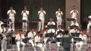陸上自衛隊第12音楽隊 水曜コンサート 【ノーカット】 Japan Ground Self-Defense Force Musical Band Playing.