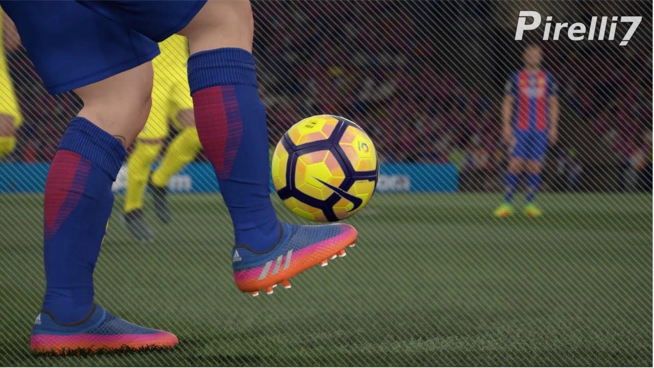 46b42b4d5c3a FIFA 17 New Boots: Leo Messi Goals & Skills 2017 |BLUE BLAST PUREAGILITY|  60fps by Pirelli7 - YouTube