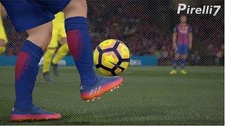 FIFA 17 New Boots: Leo Messi Goals & Skills 2017 |BLUE BLAST PUREAGILITY| 60fps by Pirelli7