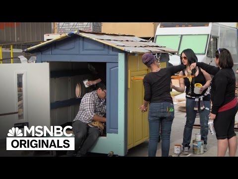 Transforming Trash Into Incredible Tiny Homes | MSNBC