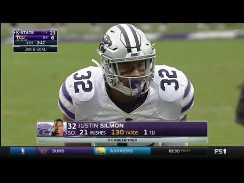 K-State RB Justin Silmon Highlights