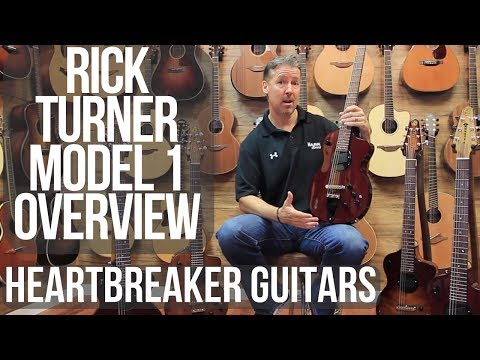 Rick Turner Model 1 Lindsey Buckingham Electric Guitar Overview and Demo