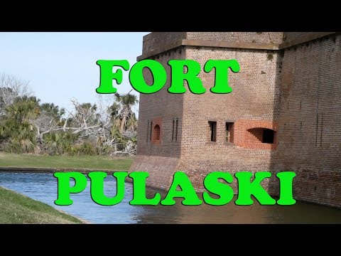 Fort Pulaski National Monument | Part One | Historic Site in Savannah GA |